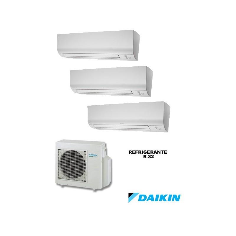 Daikin 3mxm52m + ftxm25m + ftxm25m + ftxm25m - aire acondicionado 3x1