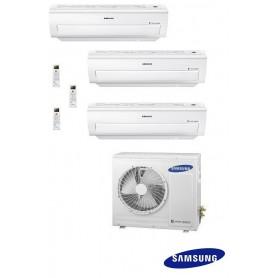 SAMSUNG AJ068FCJ3EH/EU + AR09KSFPE + AR09KSFPE + AR18KSFPE - Equipo 3X1 - Serie H5400