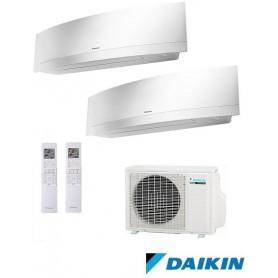 DAIKIN 2MXS50H + FTXG20LW + FTXG35LW - EMURA II - BLANCO
