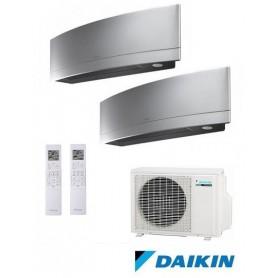 DAIKIN 2MXS50H + FTXG35LS + FTXG35LS - EMURA II - PLATA