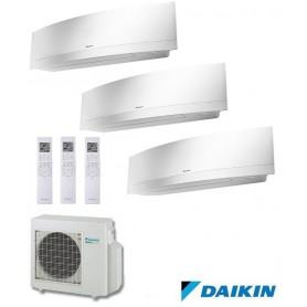 DAIKIN 3MXS52E + FTXG25LW + FTXG25LW + FTXG35LW - EMURA II - BLANCO