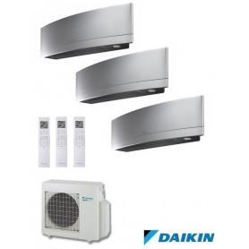 DAIKIN 3MXS52E + FTXG20LS + FTXG25LS + FTXG35LS - EMURA II - PLATA