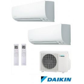 DAIKIN 2MXS40H + FTX25KV + FTX25KV - AIRE ACONDICIONADO 2X1