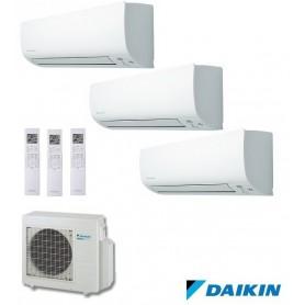 DAIKIN 3MXS52E + FTXS25K + FTXS25K + FTXS35K - AIRE ACONDICIONADO 3X1