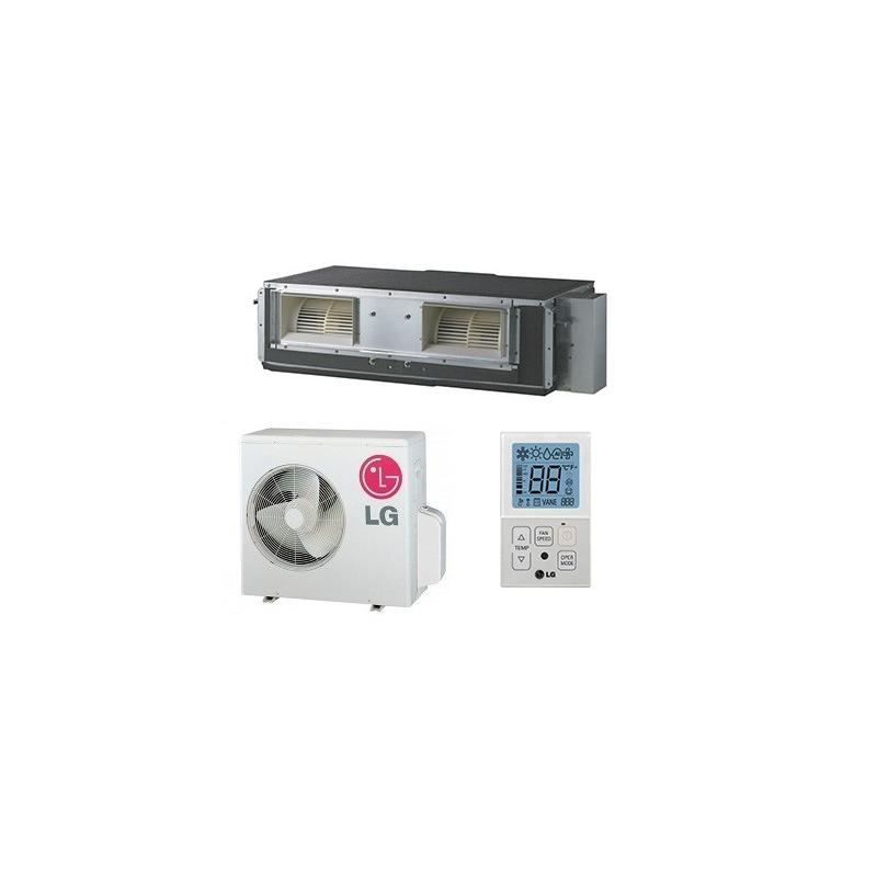 Lg ub18c uu18wc compact aire acondicionado conductos for Aire acondicionado conductos