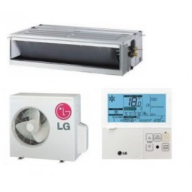 LG UM30 + UU30WC Aire acondicionado conductos compact inverter