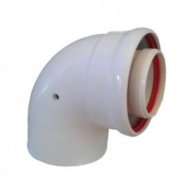 Codo 90º diámetro 80/110
