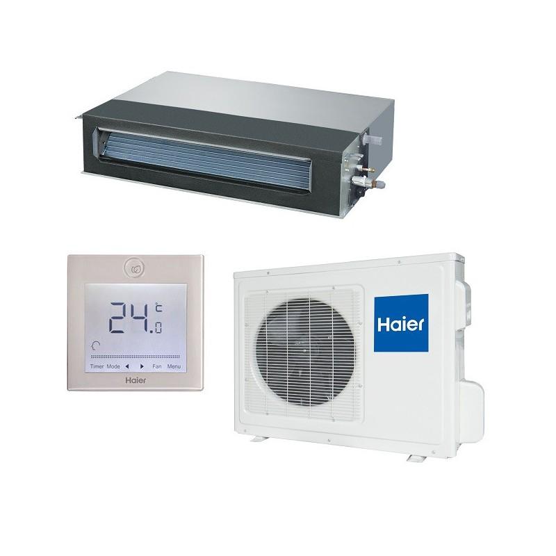 Haier ad24ms1era aire acondicionado conductos expertclima for Aire acondicionado haier