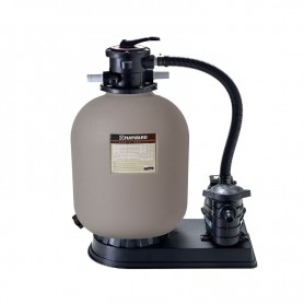 Kit de filtración Hayward 10m3/h con bomba 0,75 CV