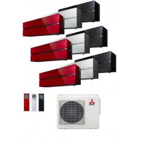 MITSUBISHI ELECTRIC MXZ-3F54VF + MSZ-LN25VG + MSZ-LN25VG + MSZ-LN25VG - EQUIPO 3X1 -AIRE ACONDICIONADO