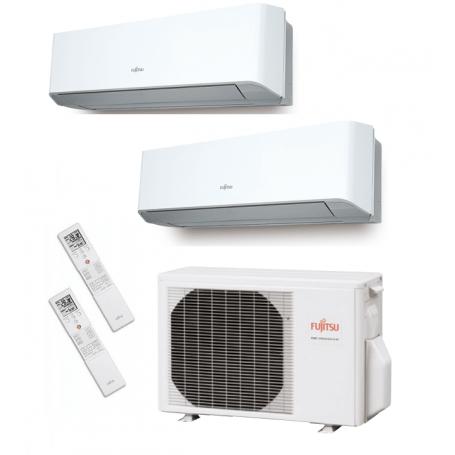 Fujitsu AOY40UI-MI2 + ASY20MI-LM + ASY35MI-LM - AIRE ACONDICIONADO 2X1