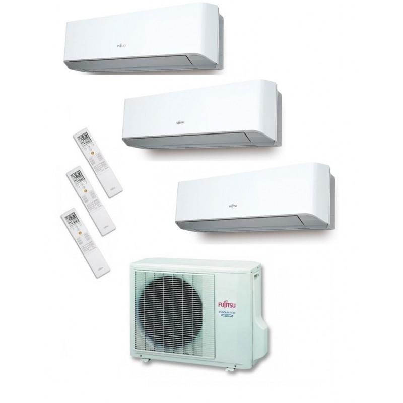Fujitsu AOY71UI-MI3 + ASY25MI-LM + ASY25MI-LM + ASY35MI-LM - AIRE ACONDICIONADO 3X1