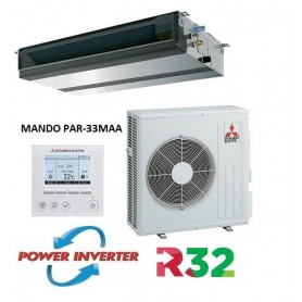 Mitsubishi Electric MPEZ-100VJA Conductos Power Inverter