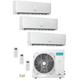 Hisense 3AMW70U4RAA + DJ25VE0AG + DJ25VE0AG + DJ25VE0AG Kit 3x1