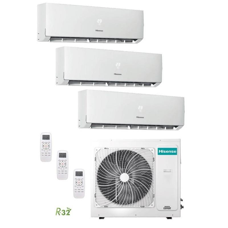 Hisense 3AMW70U4RAA + DJ25VE0AG + DJ25VE0AG + DJ35VE0AG Kit 3x1
