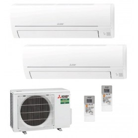 Mitsubishi Electric MXZ-2HA50VF + MSZ-HR35VF + MSZ-HR35VF Aire Acondicionado 2x1