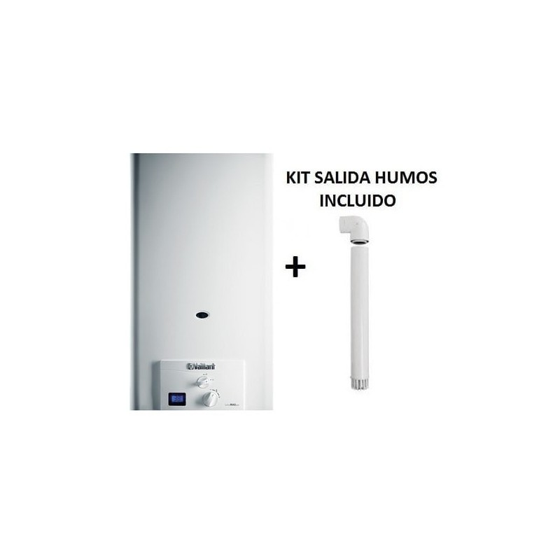 Calentador Vaillant Turbomag Pro 145/1 3 R