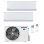 Panasonic KIT-2Z2525-VKE Etherea 2x1 Blanco mate