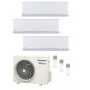 Panasonic KIT-3Z252535-VKE Etherea 3x1 Blanco mate