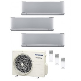Panasonic KIT-3XZ202035-TBE Etherea 3x1 Plateado