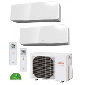 Fujitsu AOY40UI-KB + ASY20MI-KG + ASY25MI-KG - Aire Acondicionado 2x1