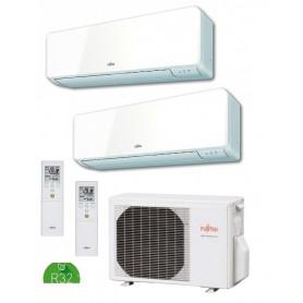 Fujitsu AOY40UI-KB + ASY20MI-KM + ASY25MI-KM - Aire Acondicionado 2x1