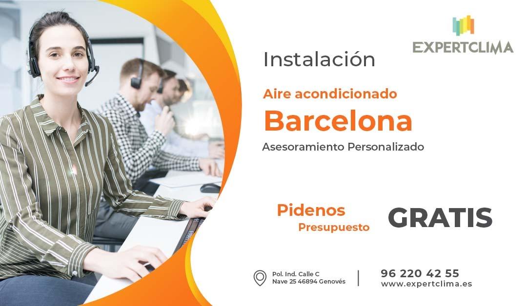Comprar aire acondicionado Barcelona