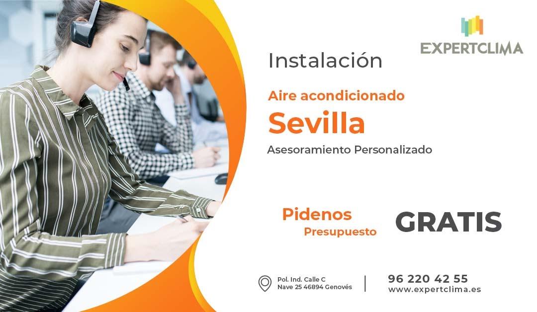 Instalador aire acondicionado Sevilla