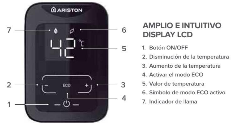 Display calentador Ariston Next EVO x 11 SFT EU
