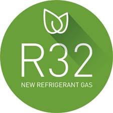 Gas R32 ecológico Hisense