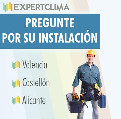 Instalacion caldera de gas y aire acondicionado