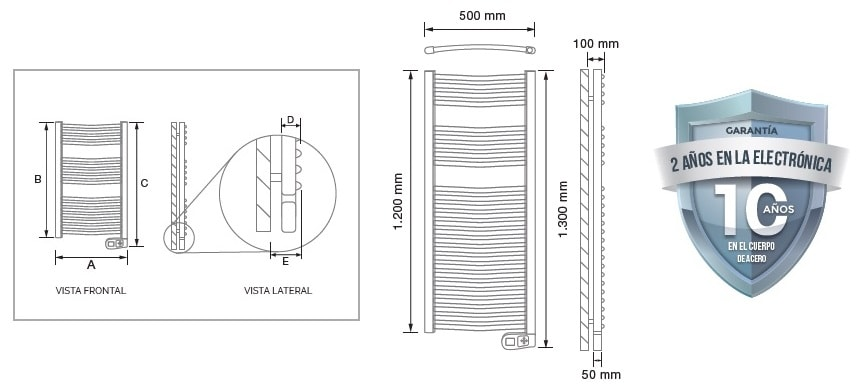 Secatoallas Rointe Sygma 500 W