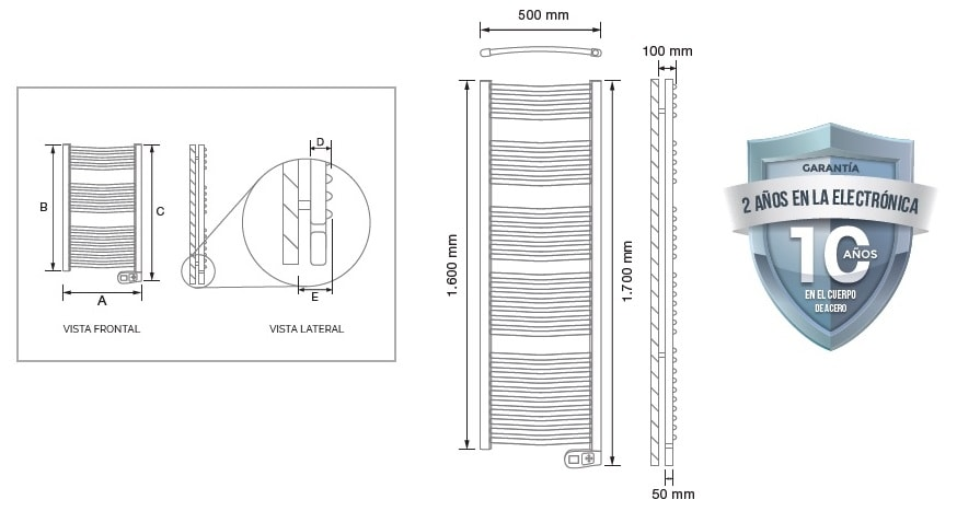 Secatoallas Rointe sygma 750 W
